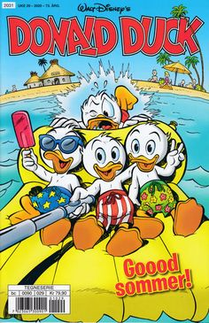 GCD :: Cover :: Donald Duck & Co #29/2020 Donald Duck Comic, Uncle Scrooge, Comics Story, Comic Covers, Detective, Bowser, Funny Animals, Mickey Mouse, Disney Characters