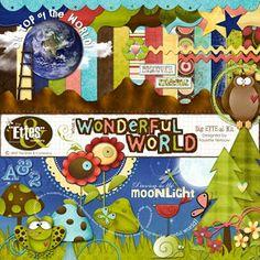 """The Ettes!: """"Wonderful World"""" kit"""