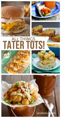 Tater Tot Recipes | landeelu.com