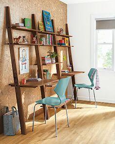 enjoy the beauty of hardwood in modern functional design pisau0027s leaning desk offers a
