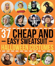 Haven't come up with an easy DIY for Halloween? Don't sweat it.