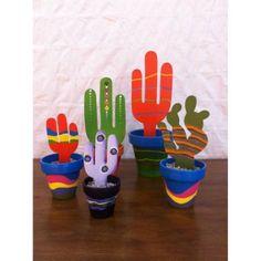 Macetas con Cactus $ 57.9