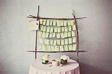 wedding name cards display - Bing Images