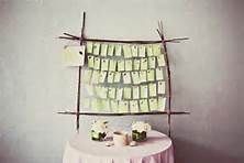 wedding name cards display - Bing Images
