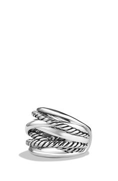 Free shipping and returns on David Yurman 'Crossover' Wide Ring at Nordstrom.com. Sterling silver. 18mm wide. By David Yurman; imported.
