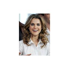Like this style...Keri Russell  | MTV Photo Gallery found on Polyvore