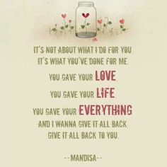 Back To You by Mandisa