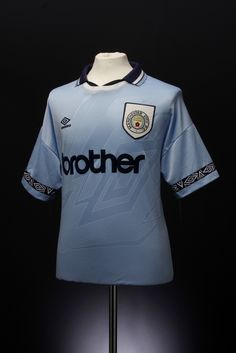 Manchester City Football Shirt (home, 1993-1995)   Flickr - Photo Sharing!