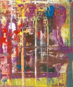 Abstract Painting [721-7] » Art » Gerhard Richter