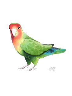 Bird Drawing Drawing By Morgan Swank Custom Illustration Art