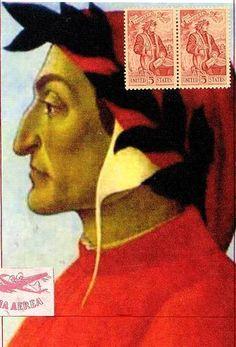 "Dante  4""x6"" paper & stamp"
