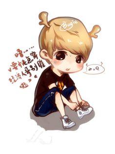 Exo Luhan #Cuteness