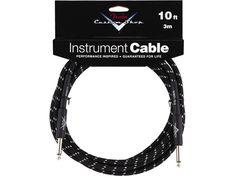Sound1.com - Fender Custom Shop 3m Jack kabel sort Tweed