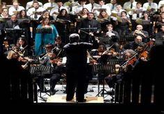 Η Φιλαρμόνια Ορχήστρα Αθηνών στην Γερμανική εκκλησία.