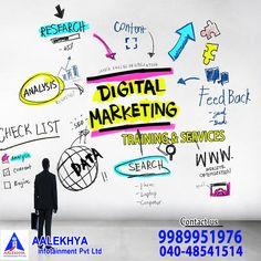 Best Digital Marketing Company, Online Marketing, Social Media Marketing, Content Analysis, Competitor Analysis, Hyderabad, Searching, Training, Inspiration