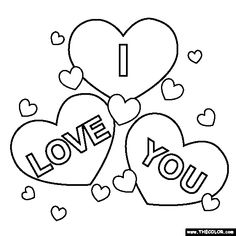i love you coloring pages 01