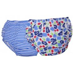 Bloomers dress up plain nappies, plus they're just so cute. The Blue Pack of 2. AU $12 (on sale) http://www.summerlane.com.au/clothing/1333-blue-bloomers-2-pack.html