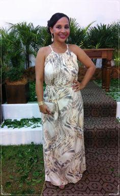 A fofa da Ana Carolina usando um #vestido #longo da @lesfilles! Ficou lindo! Compartilhe conosco o seu #look da @marchelapin! #dress #wedding #tiedye