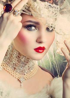 Russian Royalty Makeup, Doe Doree ~ VoyageVisuelle ✿⊱╮