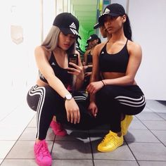 adidas sports bra snapback adidas supercolor sportswear pants leggings hair accessory urban urban sportswear