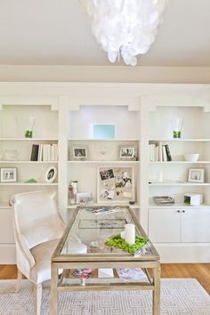 Must have this chair for my office.  30 Best Glam, Girly, Feminine Workspace Design Ideas
