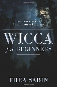 Wicca for Beginners: Fundamentals of Philosophy & Practice (For Beginners (Llewellyn's)): Thea Sabin: 9780738707518: Amazon.com: Books
