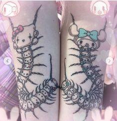 milky tears — New Jazmin Bean's tattoos are frickin' cute! 16 Tattoo, Goth Tattoo, Grunge Tattoo, Anime Tattoos, Tattoo Drawings, Kawaii Tattoos, Dream Tattoos, Mini Tattoos, Future Tattoos