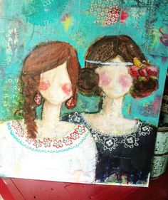 Photo idea for friendship journal gift - @Amanda Hulbert & @Jessica Kloeckner!
