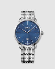 5f8df62c3d69 Reloj de hombre Hugo Boss Swiss Made de acero