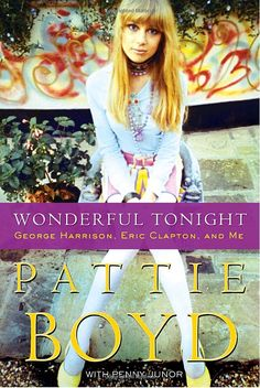 amazing memoir of model Patti Boyd's life and experiences working as a model in the 60's and her relationships with George Harrison and Eric Clapton. Wonderful Tonite, Layla and Something were all written about her! If your into the 60's, modeling and rock and roll you should definitely check it out.