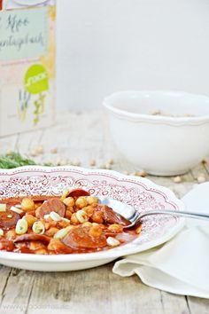 Buch Rezension - Mein Küchentagebuch - Chorizo Kichererbseneintopf von den [Foodistas]