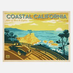 Anderson Design Group: California Cypress Print