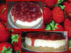 Order a delicious New york style strawberrry cake. :-) 915.861.5868