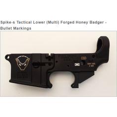 Spike's Tactical Lower (Multi) Forged Honey Badger - Bullet Markings (PRE-ORDER)