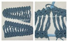 crochet covered coat hangers from http://www.craftygardener.ca