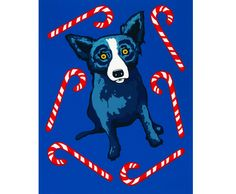 Holiday Prints ~ Sweet Like You ~ 2000 ~ Original Silkscreen by George Rodrigue