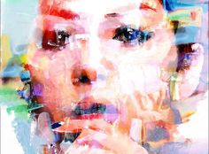 THE FACE Abstract Artwork, Abstract, Artwork, Color