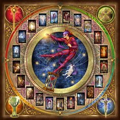 Tirada tarot para encrucijadas sentimentales - El Camino de la Magia