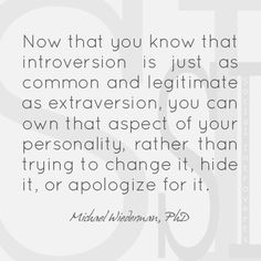 Introversion.