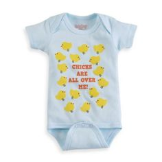 Sara Kety® Chicks Are All Over Me Bodysuit - buybuyBaby.com