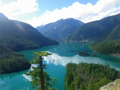 Diablo Lake in Anacortes, Washington. Beautiful place can't wait to return.