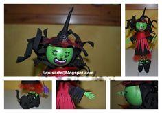 TiquisArte: Fofucha Wreaths, Christmas Ornaments, Halloween, Holiday Decor, Home Decor, Decoration Home, Door Wreaths, Room Decor, Christmas Jewelry