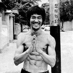 """""""As you think, shall you become."""" - Bruce Lee"""