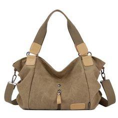 100% Cotton Canvas Bag-Big Capacity Unisex Hand/Shoulder Bag High Quality Messenger Bags