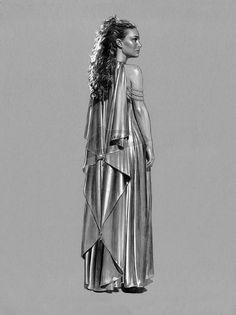Star Wars - Padme Veranda Nightgown by jasonpal.deviantart.com