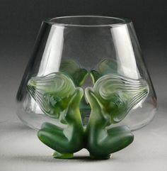 Lalique Antinea Vase