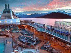 Alaskan cruise... was pretty amazing.