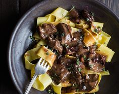Recipes | Ragout on Pappardelle