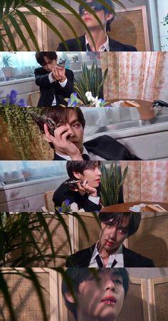 Bts Taehyung, Bts Bangtan Boy, Bts Boys, V Bts Cute, I Love Bts, Taekook, Bts Polaroid, V Bts Wallpaper, Levi X Eren