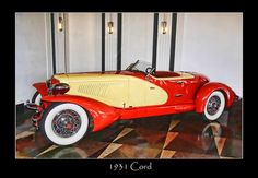 1931 Cord Classic Motors, Classic Cars, Cords, Auburn, Cars And Motorcycles, Vintage Cars, Automobile, 1, Trucks